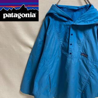 patagonia - 【Patagonia】パタゴニア ハーフジップ ナイロンジャケット ロゴ入り