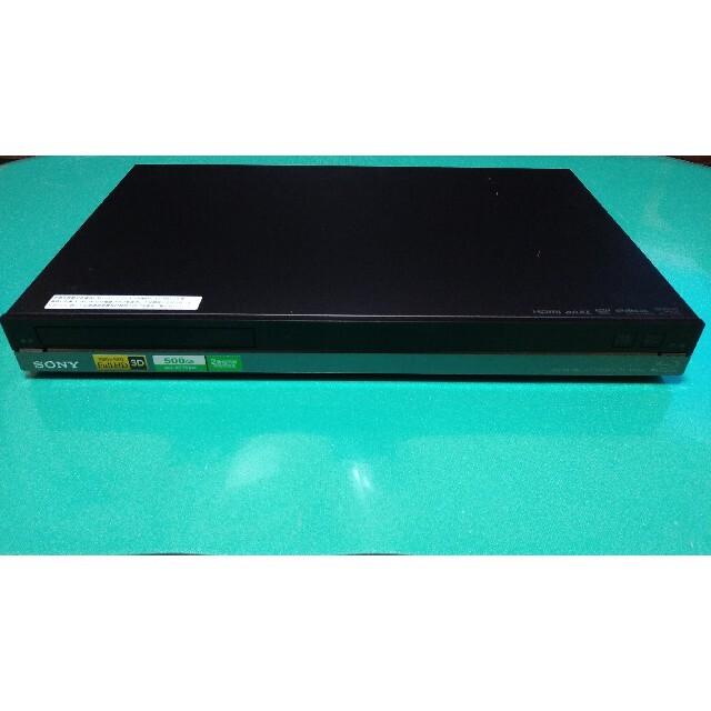 SONY(ソニー)のSONY BDZ-AT750W 500GB ブルーレイレコーダー ソニー スマホ/家電/カメラのテレビ/映像機器(ブルーレイレコーダー)の商品写真