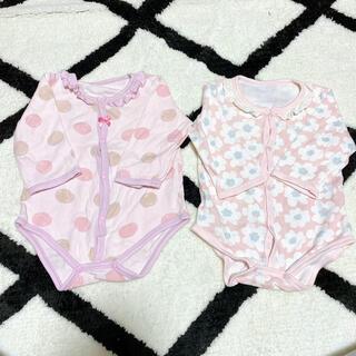 ニシキベビー(Nishiki Baby)の肌着 ロンパース 80 ニシキベビー(肌着/下着)