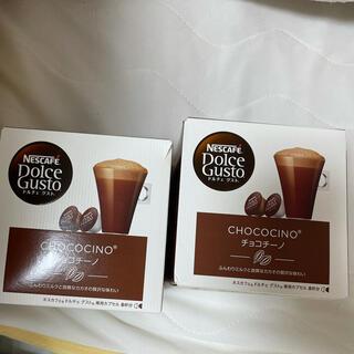 ネスレ(Nestle)のネスカフェ ドルチェグスト チョコチーノ 2箱(その他)