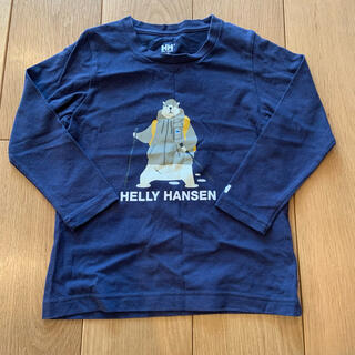 ヘリーハンセン(HELLY HANSEN)のH/H HELLY HANSEN キッズ長袖シャツ 120(Tシャツ/カットソー)