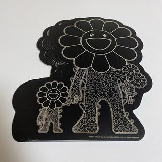 メディコムトイ(MEDICOM TOY)の村村上隆 お花の親子 フライヤー 黒8枚白20枚セット六本木ヒルズ プロジェクト(印刷物)