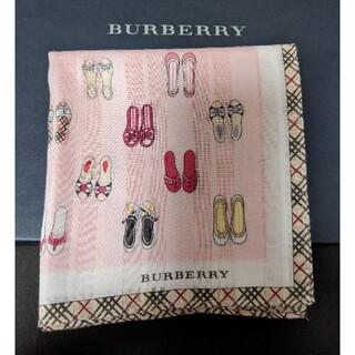 BURBERRY - バーバリーハンカチ USED品