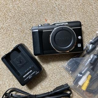 OLYMPUS - OLYMPUS PEN E-PL1 ボディ ブラック SDカード付