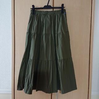 シップス(SHIPS)のRanch⁑ティアードスカート新品 SHIPS購入(ロングスカート)