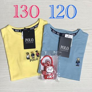 しまむら - 新品 ポロベア Tシャツ    2枚セット 120cm    130cm