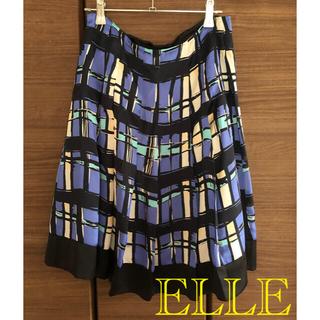 エル(ELLE)のELLEスカート(ひざ丈スカート)