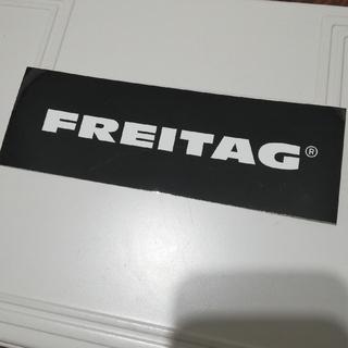 FREITAG - フライターグ ノベルティ ロゴステッカー シール ブラック 黒