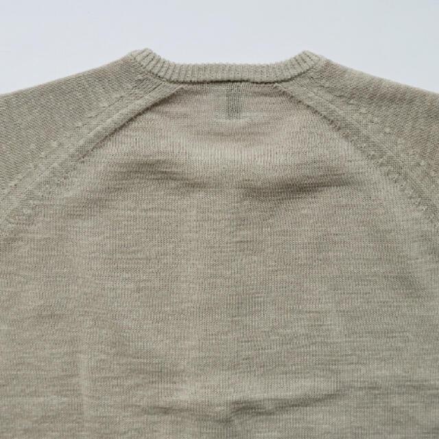 nest Robe(ネストローブ)の休日と詩 ソルトバターカーディガン ライトベージュ 新品未使用 レディースのトップス(カーディガン)の商品写真