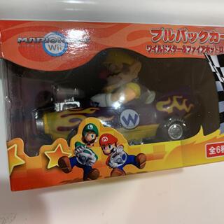 ワリオ マリオカート プルバックカー(キャラクターグッズ)