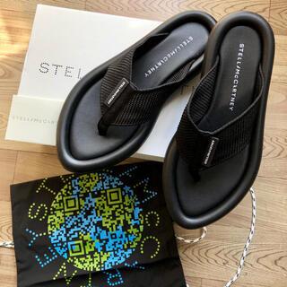 Stella McCartney - 新品 新作 ステラマッカートニー   エア スライド ロゴ サンダル