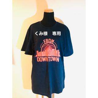 adidas - adidas  半袖 Tシャツ 2XO  紺×オレンジ