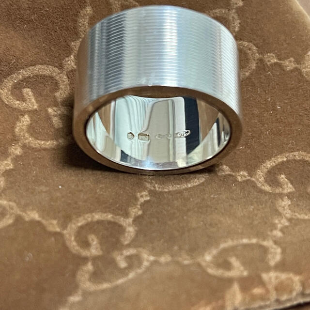 Gucci(グッチ)のGUCCI ロゴリング 16号 メンズのアクセサリー(リング(指輪))の商品写真