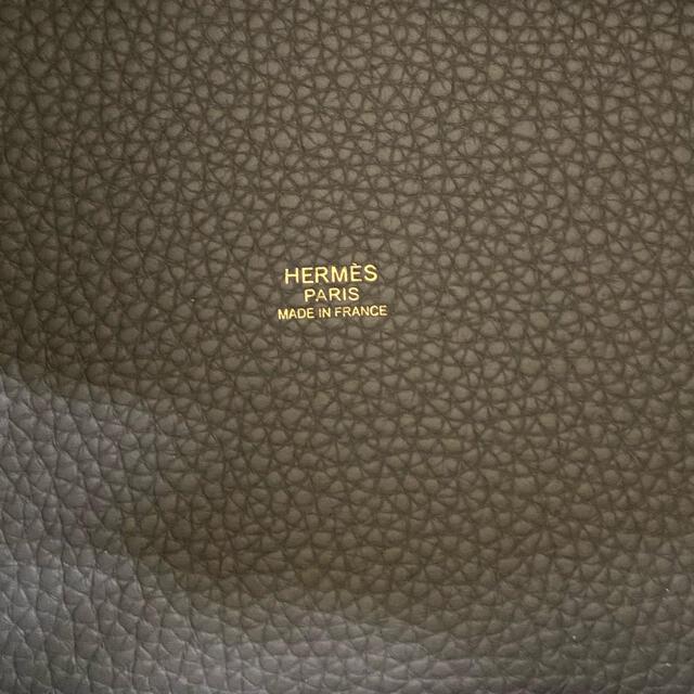 Hermes(エルメス)の未使用同様・ピコタンロックPM・エタン レディースのバッグ(ハンドバッグ)の商品写真