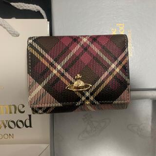 Vivienne Westwood - 新品☆ ヴィヴィアンウエストウッド Vivienneレザー紙袋なし3つ折り財布