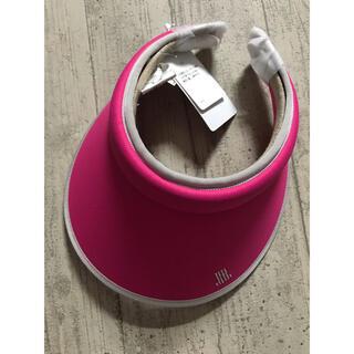 LANVIN - 新品タグ付き ランバンスポール サンバイザー ゴルフウェア レディース ピンク
