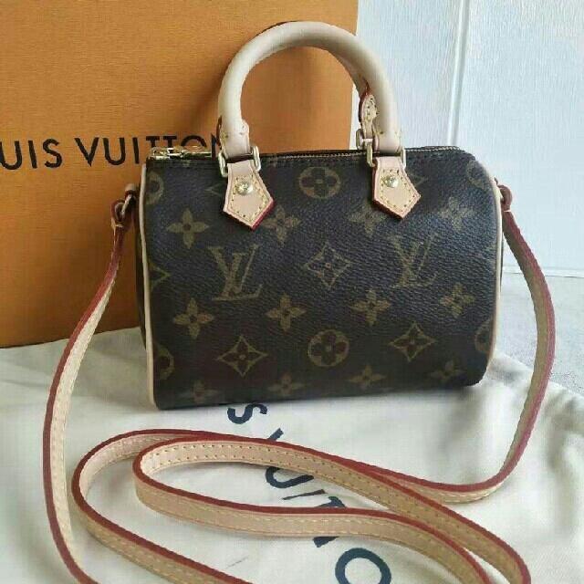 LOUIS VUITTON(ルイヴィトン)の♡美品♡ルイヴィトン LOUIS VUTTON モノグラムナノ スピーディ レディースのバッグ(ショルダーバッグ)の商品写真
