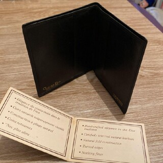 Christian Dior - クリスチャンディオール メンズ 財布 ブラック