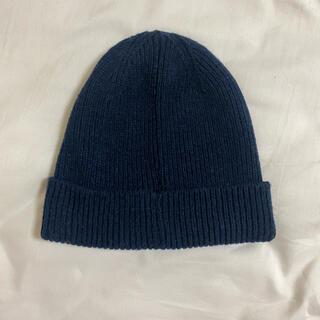 ギャップ(GAP)のGAP ニット帽 ネイビー(ニット帽/ビーニー)