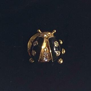 ウォルサム(Waltham)のウォルサムWALTHAM jewelry てんとう虫ピンブローチ(ブローチ/コサージュ)