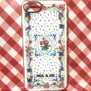 ポールアンドジョー(PAUL & JOE)の新品同様 PAUL&JOE iPhone SE スマホケース カバー(iPhoneケース)