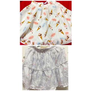 アンクルージュ(Ank Rouge)のAnk Rouge/LIZLISA スカートセット(ひざ丈スカート)