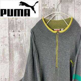 プーマ(PUMA)のプーマ 美品 グレー パーカー スウェット セーター PUMA 古着(スウェット)