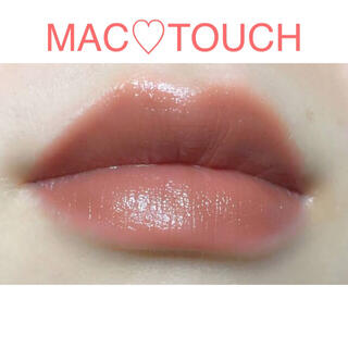 MAC - 【人気♡ヌーディ ピンク】MAC リップスティック タッチ TOUCH