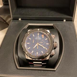 エドックス(EDOX)のEDOX エドックス クロノオフショア1   2016年購入(腕時計(アナログ))