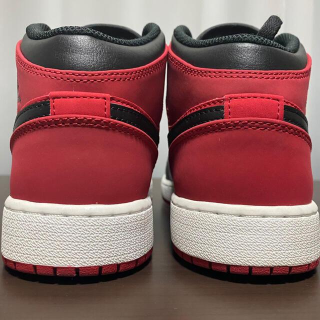 NIKE(ナイキ)のnike air jordan 1 mid gs 24cm レディースの靴/シューズ(スニーカー)の商品写真