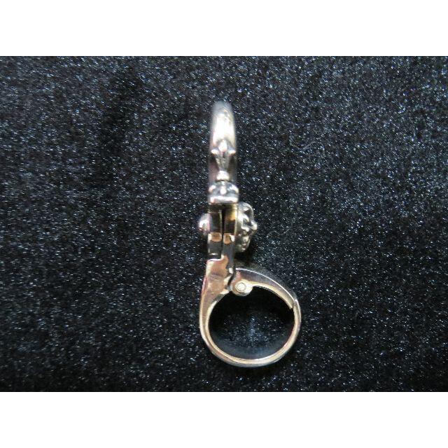 Chrome Hearts(クロムハーツ)のクイッククリップ シルバー 925 キーチェーン キークリップ キーホルダー メンズのファッション小物(キーホルダー)の商品写真