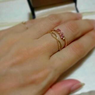 サマンサティアラ(Samantha Tiara)のサマンサティアラ カラーストーンリング  K10 (リング(指輪))