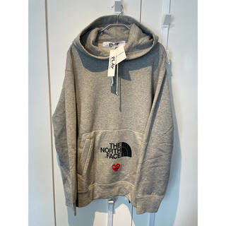 COMME des GARCONS - PLAY CDG ✖️THE NORTH FACE パーカー XL