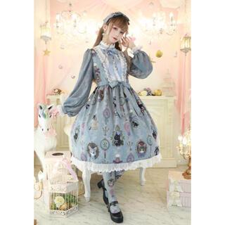 アンジェリックプリティー(Angelic Pretty)のRoyal Princess Alice*Perfume Catワンピース(ひざ丈ワンピース)