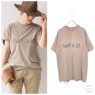 DEUXIEME CLASSE - 19ss ドゥーズィエムクラス Surf is up! Tシャツ カットソー