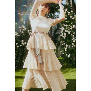 AKB48 - herlipto Garden Party Ruffled Dress