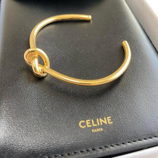 celine - 【新品】CELINE 定番 ノット エクストラシン ブレスレット ゴールド