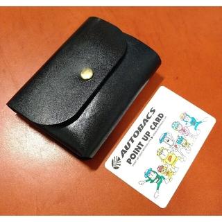 栃木レザー - 手縫い コンパクト ウォレット ミニ財布 ミニマル財布 ミニマム財布 小さな財布