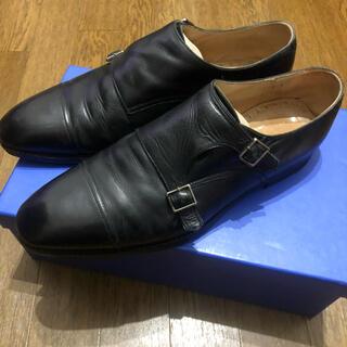 シップス(SHIPS)のヒロシツボウチ シップス別注 ダブルモンクシューズ ビジネスシューズ 革靴(ドレス/ビジネス)