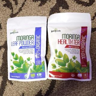 新品 モリンガ茶 & モリンガリーフパウダー(健康茶)
