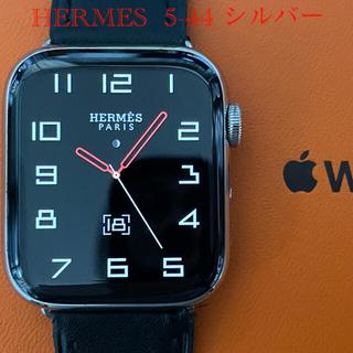 Hermes - Apple watch HERMES 5-44㍉シルバーステンレス