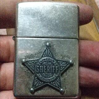 ジッポー(ZIPPO)のSHERIFF!保安官 シェリフバッチ 2001年モデルジッポー(タバコグッズ)