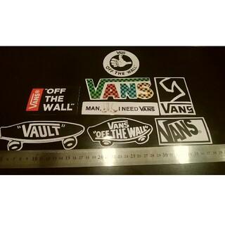 ヴァンズ(VANS)のVANS ステッカー 8枚セット バンズステッカー スケートボード サーフィン (スケートボード)