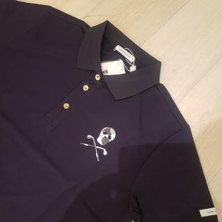 MARK&LONA - 【新作】MARK&LONA(マーク&ロナ) 半袖ポロシャツ Lサイズ ブラック