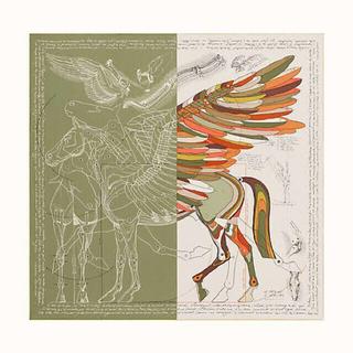 エルメス(Hermes)のエルメス  140 Le Pegase d'Hermes Cut   スカーフ(バンダナ/スカーフ)