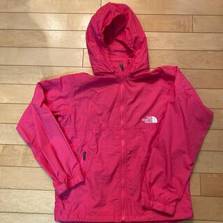 THE NORTH FACE - North Face 薄手ジャンパー150ピンクColeman上着
