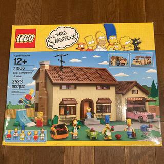 レゴ(Lego)の新品 美品 レゴ LEGO 71006 シンプソンズハウス 限定 レア 入手困難(知育玩具)