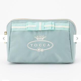 TOCCA - TOCCA BAMBINI EMB ロゴマザーズ ポーチ スカイブルー