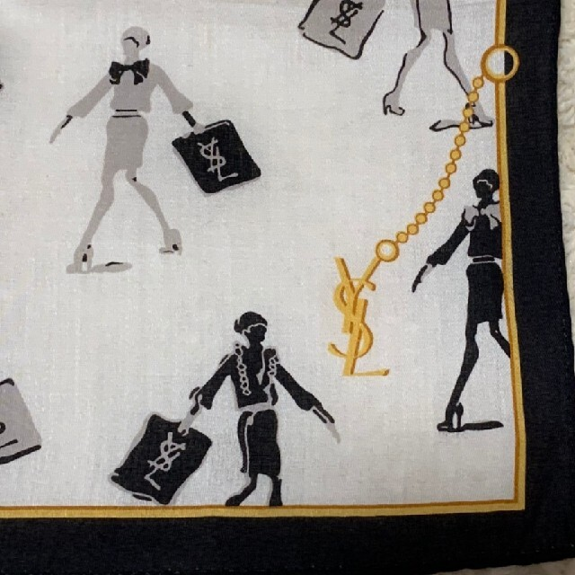 Saint Laurent(サンローラン)の《未使用》YVES SAINT LAURENT ハンカチ レディースのファッション小物(ハンカチ)の商品写真