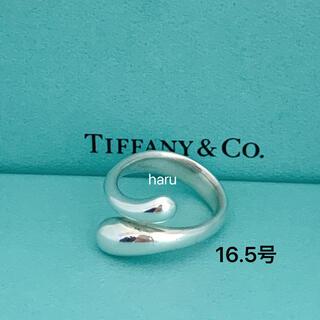Tiffany & Co. - TIFFANY&Co. ティファニーエロンゲイテッド ティアドロップ リング